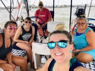 Sailing S/V Verano from League City to Galveston