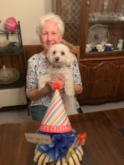 We got to see Mom on her birthday!